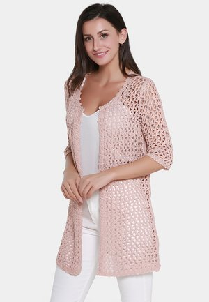 STRICKJACKE - Cardigan - rosa