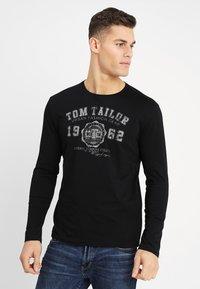 TOM TAILOR - LONGSLEEVE PRINT TEE - Langarmshirt - original - 0
