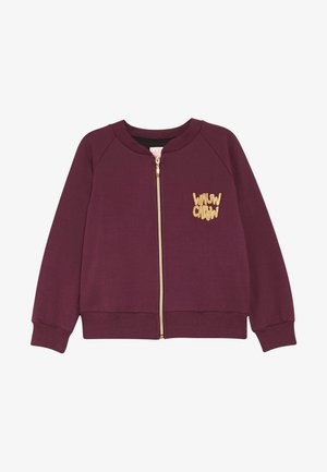 LOUD LARRY - Zip-up hoodie - bordeaux