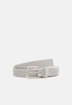 GLAM BELT - Waist belt - silver