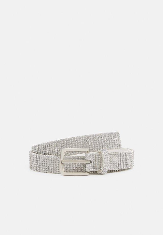 GLAM BELT - Cinturón - silver