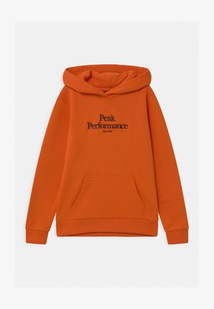 ORIGINAL HOOD UNISEX - Sweat à capuche - orange altitude