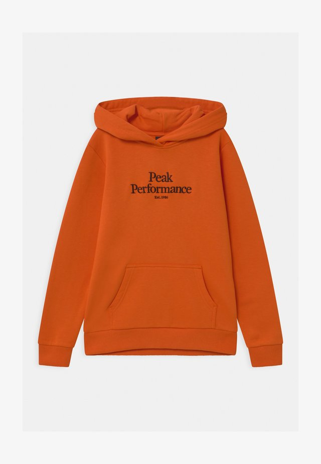 ORIGINAL HOOD UNISEX - Mikina s kapucí - orange altitude