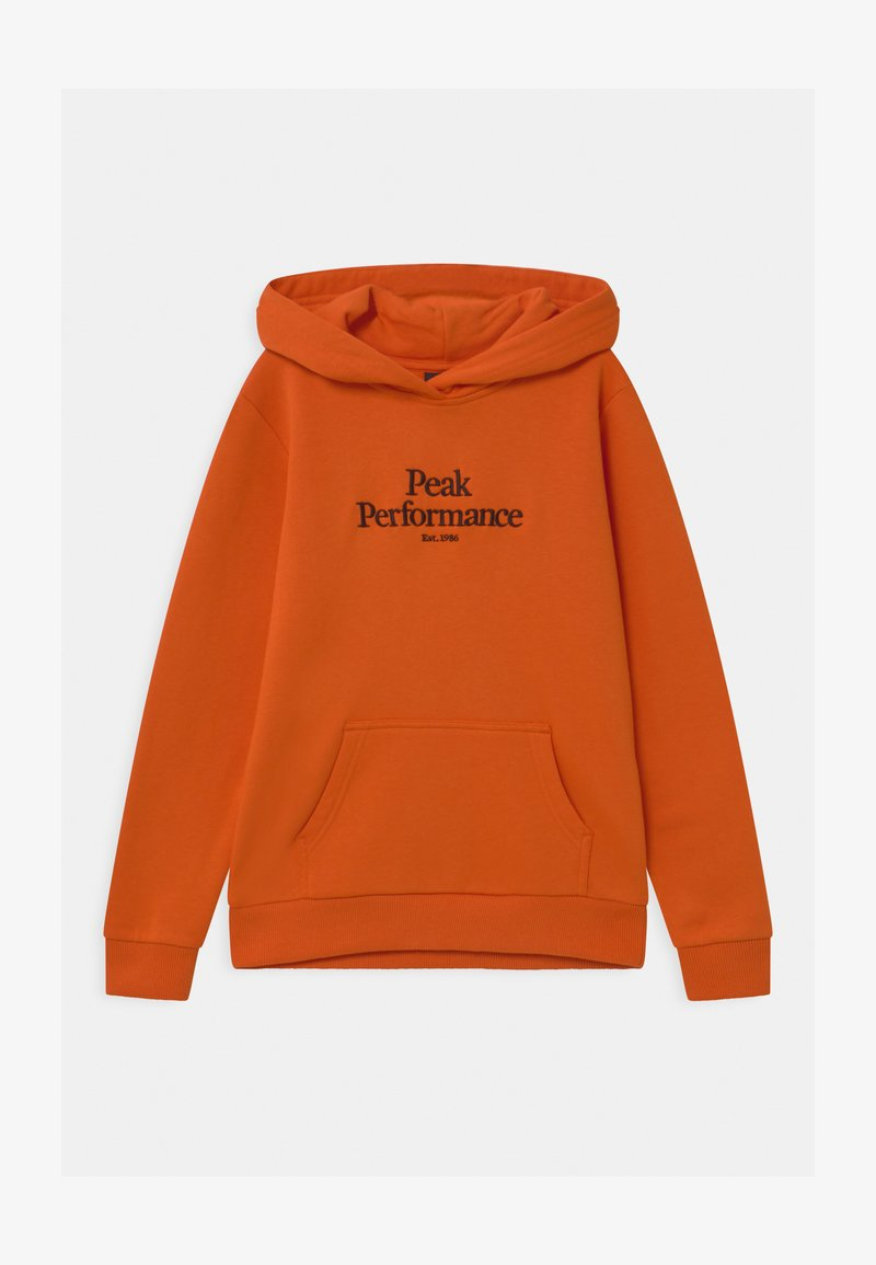 Peak Performance - ORIGINAL HOOD UNISEX - Mikina skapucí - orange altitude