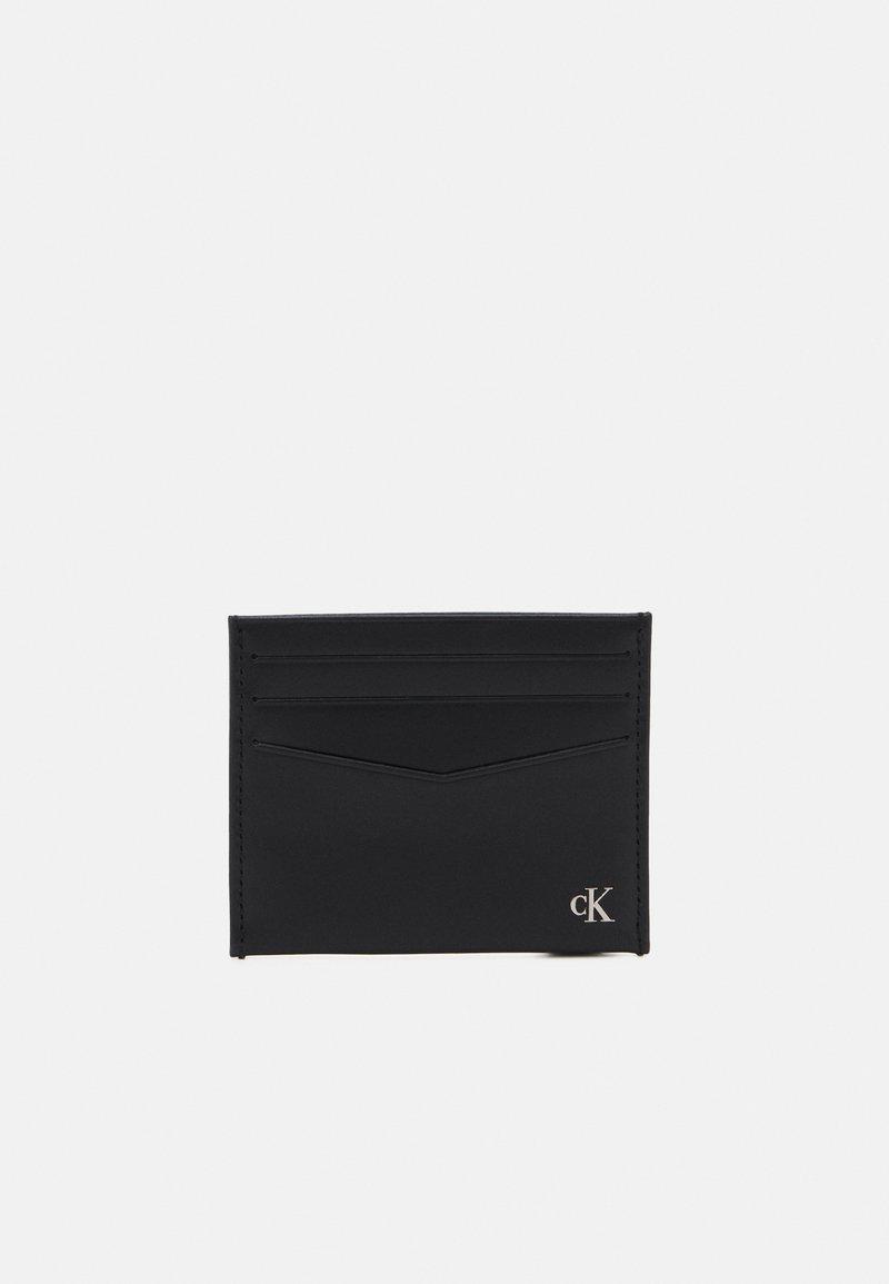 Calvin Klein Jeans - HARDWARE CARDCASE UNISEX - Wallet - black