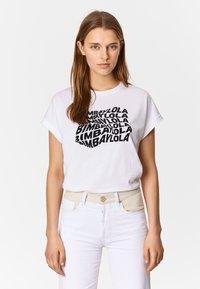 Bimba Y Lola - T-Shirt print - white - 0
