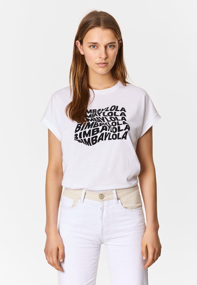 Bimba Y Lola - T-Shirt print - white
