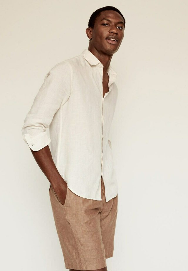 REGULAR FIT - Shirt - ecru