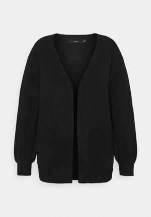 VMLEFILE BALLOON OPEN CARDIGAN - Cardigan - black
