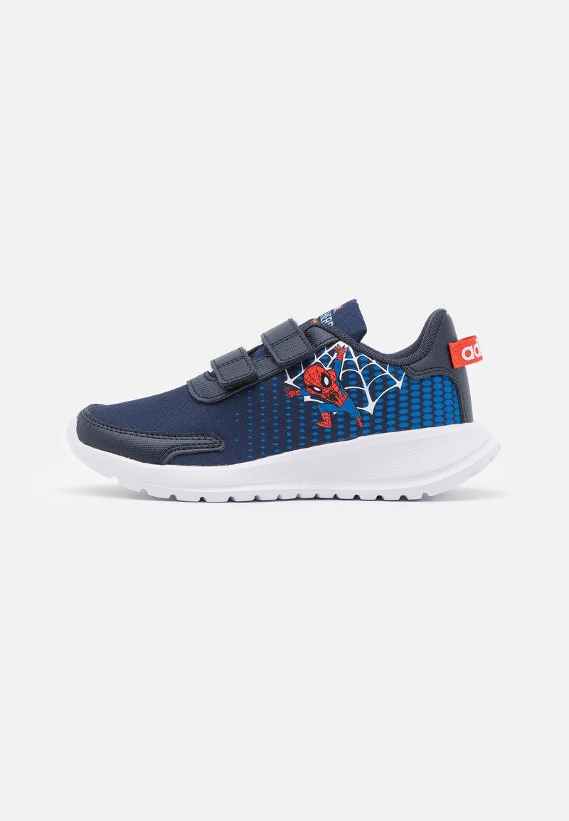 adidas Performance - TENSAUR RUN UNISEX - Neutral running shoes - legend ink/footwear white/blue
