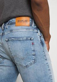 Replay - Denim shorts - light blue - 5