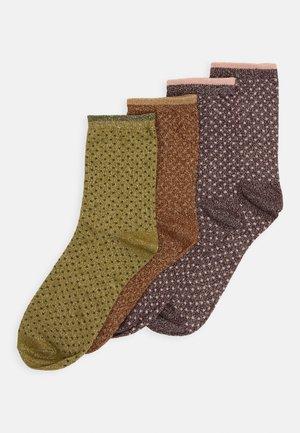 VMGLAM MINI DOT SOCKS 4 PACK - Calcetines - ivy green