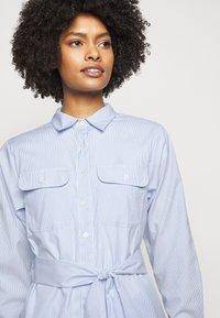 Lauren Ralph Lauren - BROADCLOTH DRESS - Shirt dress - blue/white multi - 3