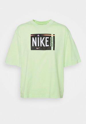 TEE WASH - Print T-shirt - ghost green