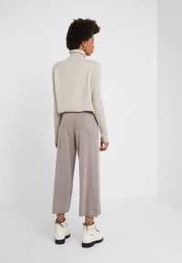 pure cashmere - LOOSE FIT PANTS - Trousers - beige - 2