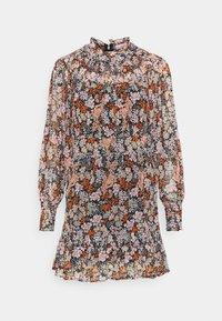 YOKE RUCH MINI DRESS - Denní šaty - multi