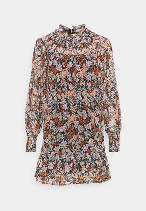 YOKE RUCH MINI DRESS - Day dress - multi