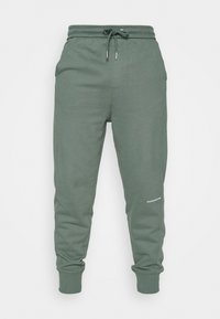 Calvin Klein Jeans - MICRO BRANDING PANT - Pantaloni sportivi - duck green - 3