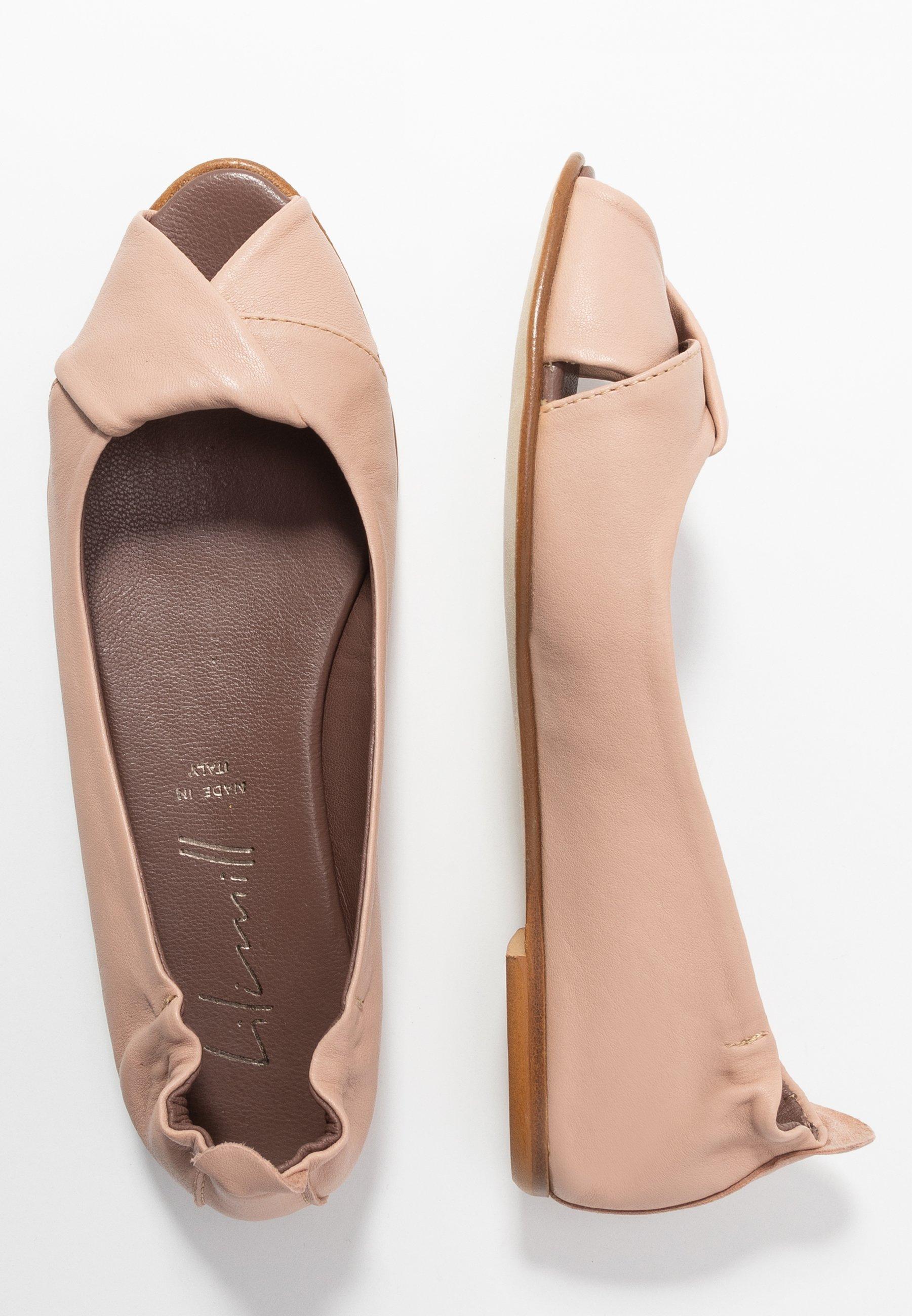 Women Peeptoe ballet pumps