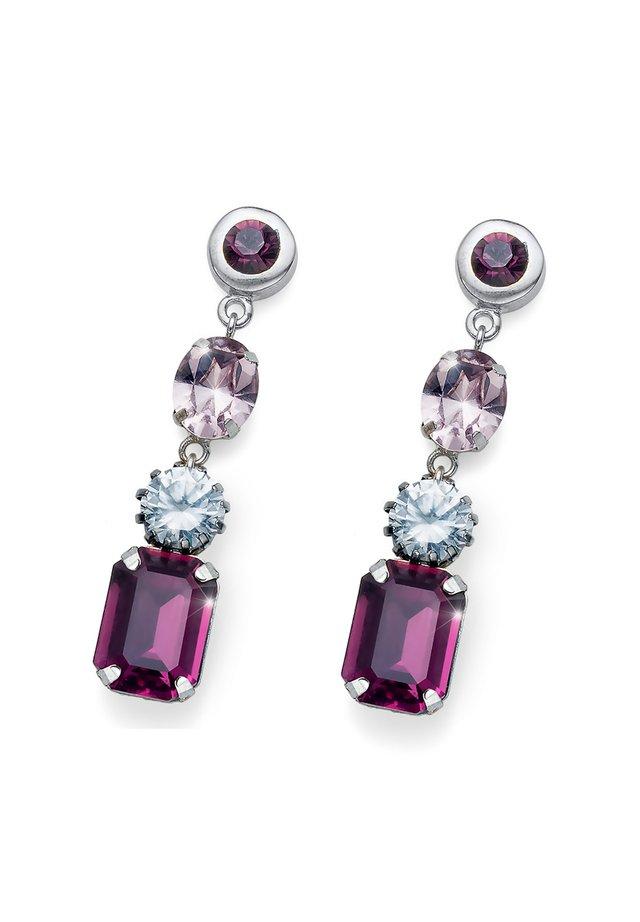 VARY - Boucles d'oreilles - violett