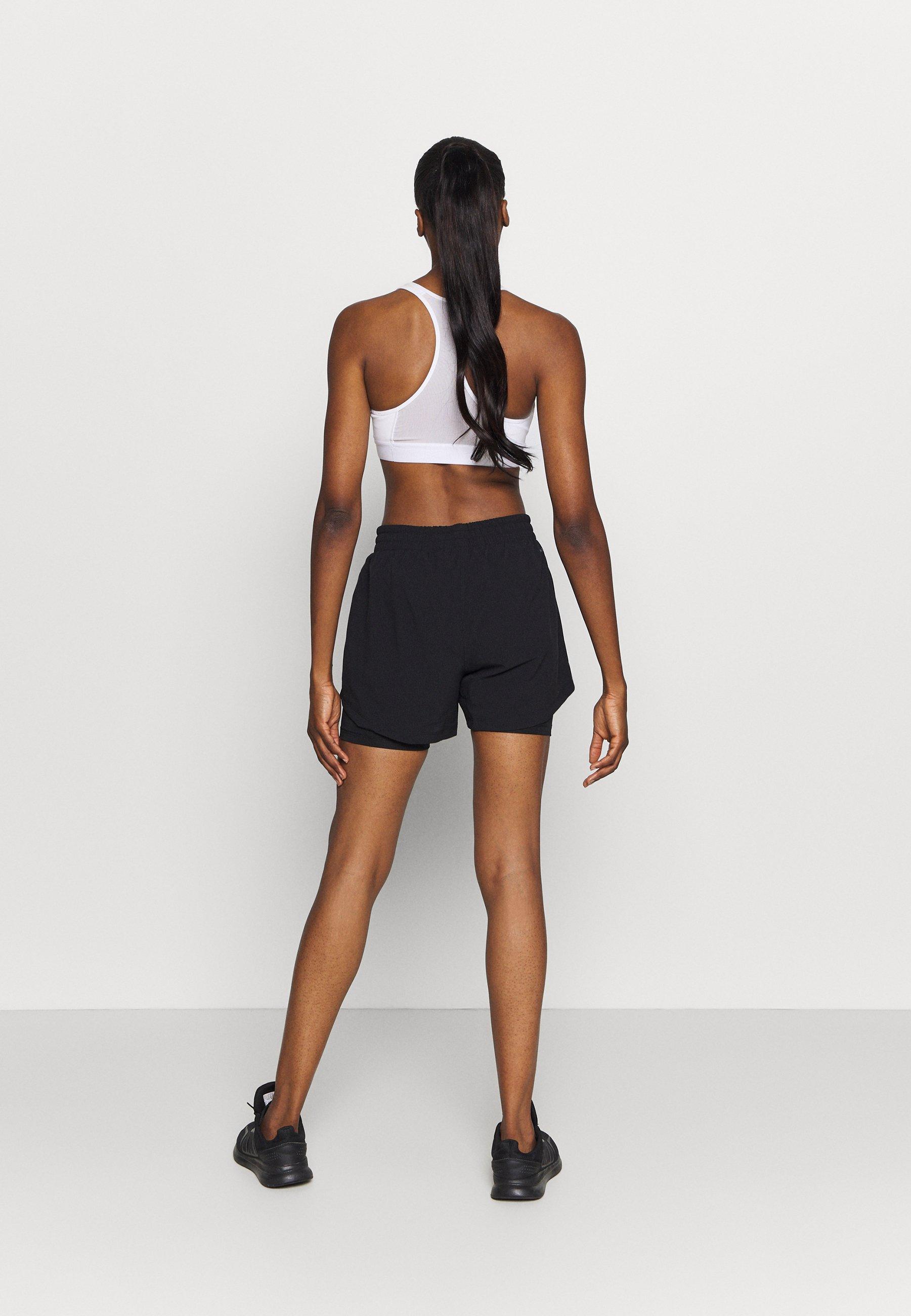 adidas Performance SHORT 2IN1 - Sports shorts - black QdihU
