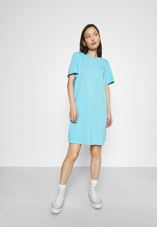 ELLE DRESS - Jersey dress - blue topaz