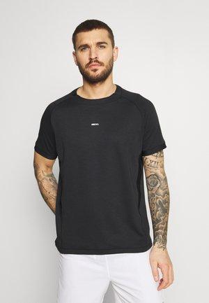 ELITE - T-shirt basic - black/white