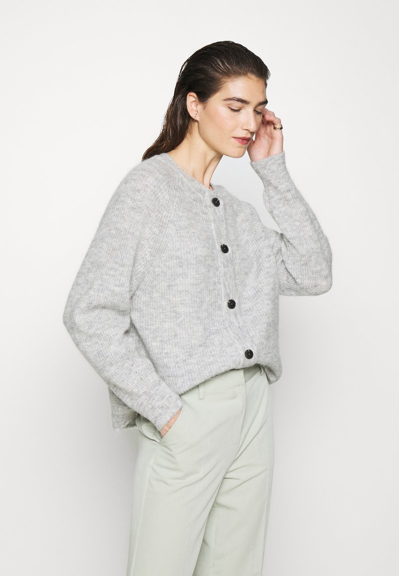 Selected Femme - SLFLULU - Cardigan - light grey melange