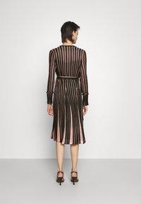Diane von Furstenberg - EDELINE - Maxi dress - black/pale pink - 2