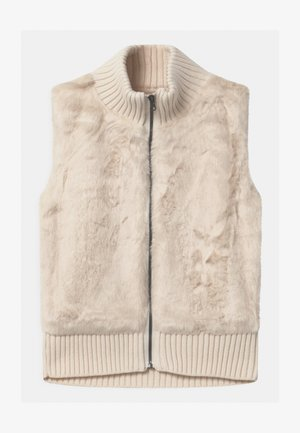 GIRL - Waistcoat - ivory frost
