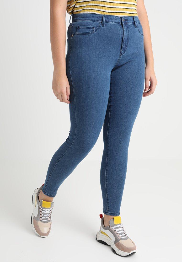 ONLY Carmakoma - CARSTORM - Jeans Skinny Fit - medium blue denim