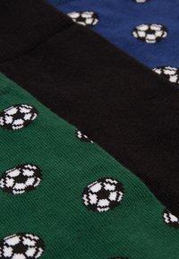 Pier One - 3 PACK - Ponožky - dark green - 1