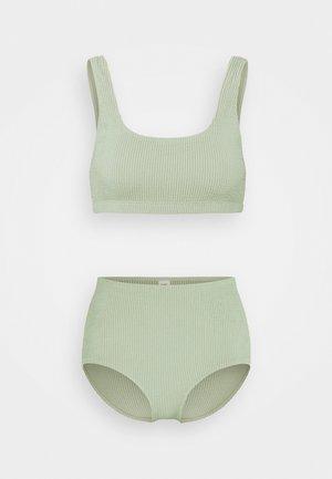 Bikini - sage green solid
