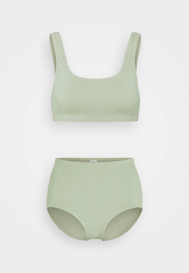 MAJ LIS  - Bikinit - sage green solid