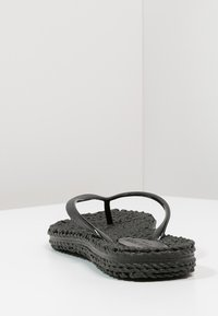 Ilse Jacobsen - CHEERFUL - Teenslippers - black - 3