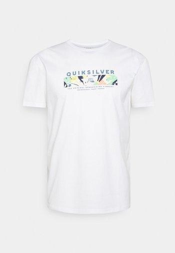 WRAP IT UP - Print T-shirt - white