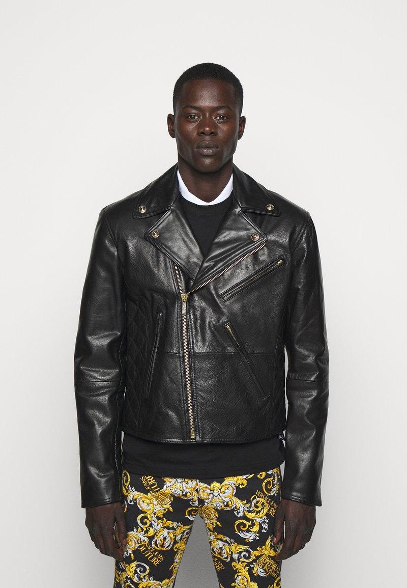 Versace Jeans Couture - Veste en cuir - nero
