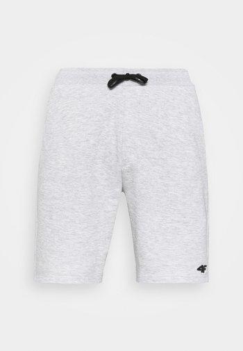 Pantaloncini sportivi - cold light grey melange