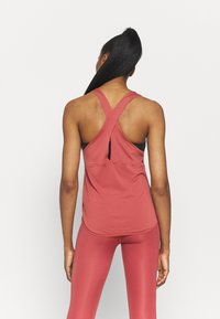 Nike Performance - BREATHE TANK COOL - Top - canyon rust/reflective silver - 2