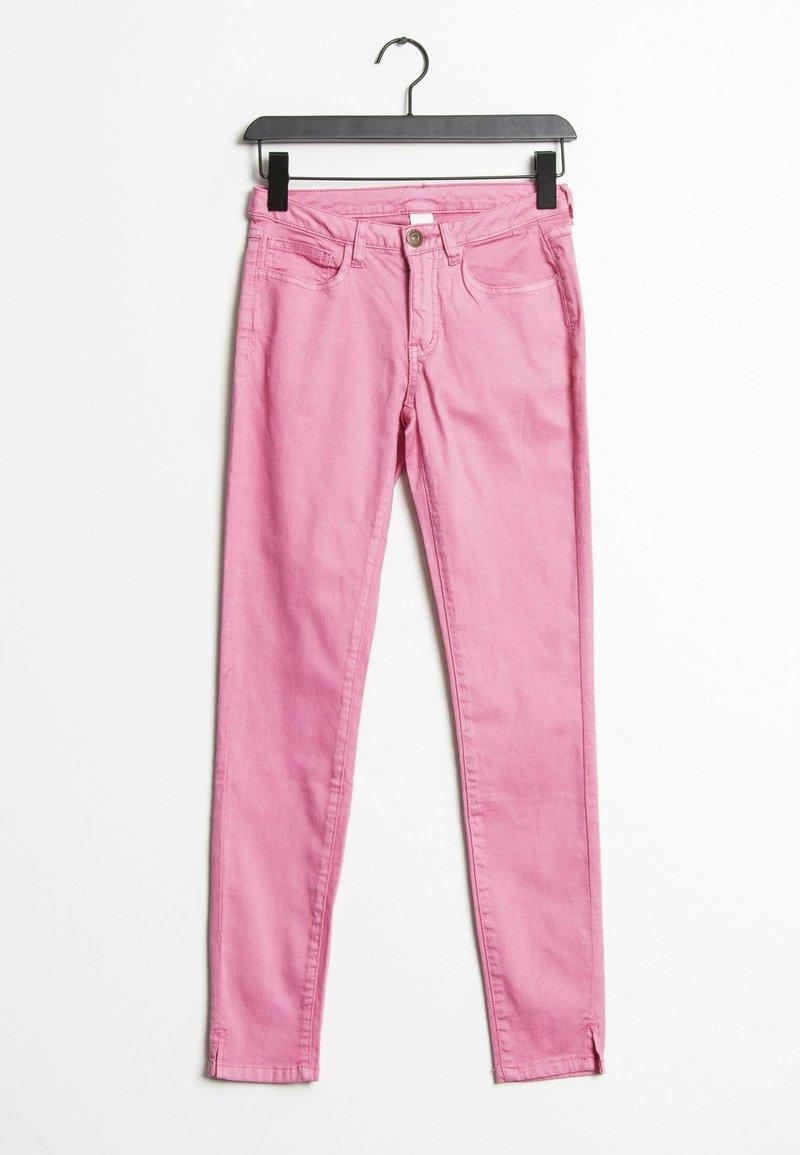 Vila - Slim fit jeans - pink