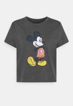 SHRUNKEN TEE - T-shirt print - black