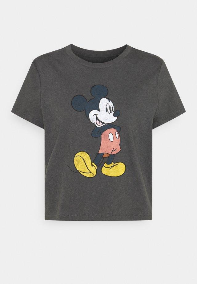 SHRUNKEN TEE - T-shirt con stampa - black