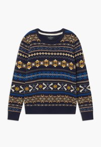 Hackett London - FAIRISLE CREW - Jumper - navy - 0