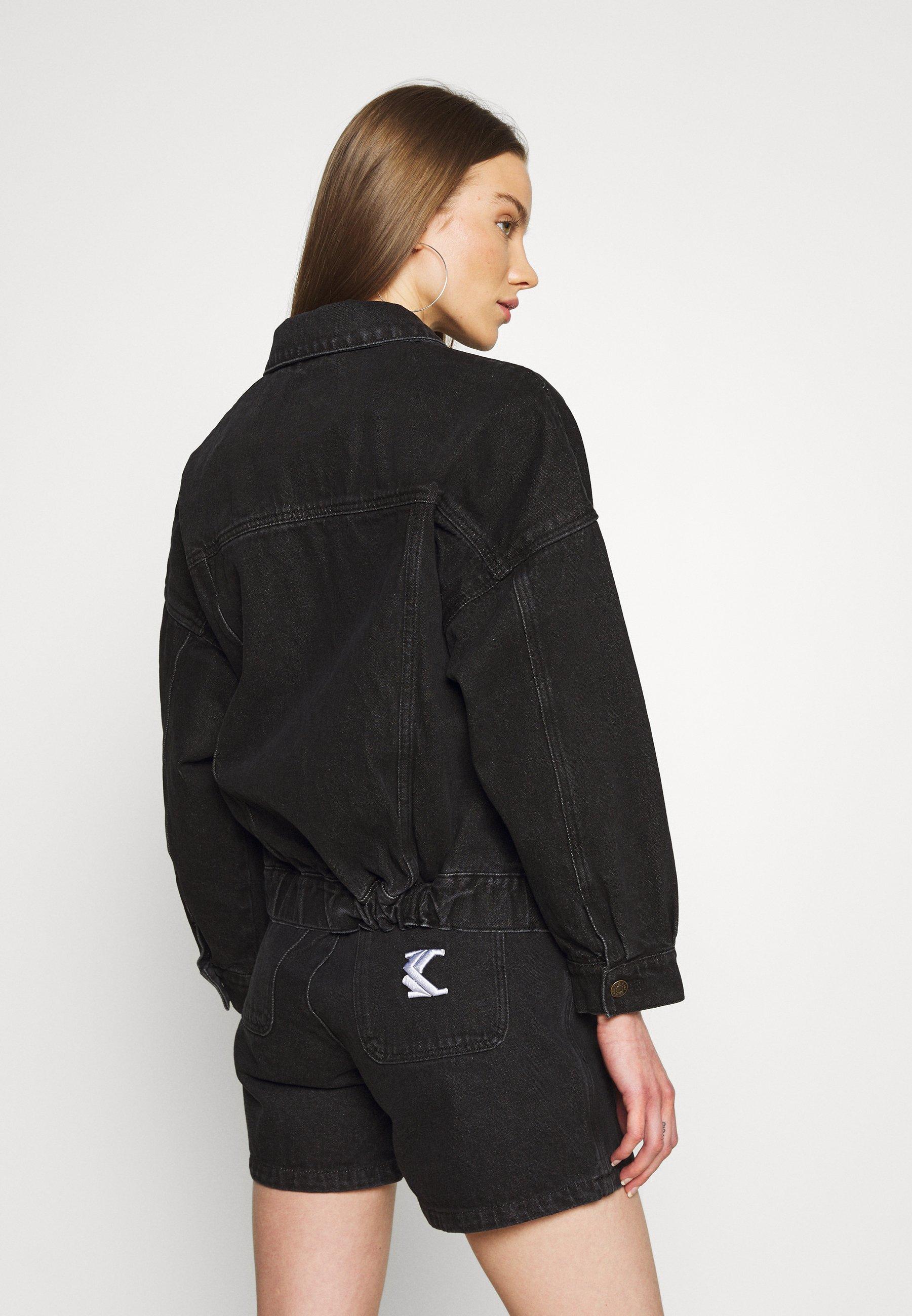Women WASHED JACKET - Denim jacket