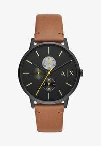 Armani Exchange - Chronograph watch - brown - 0