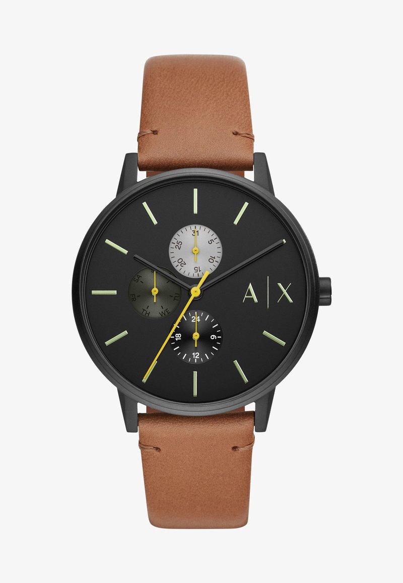 Armani Exchange - Chronograph watch - brown