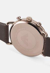 Emporio Armani - Cronografo - brown - 3