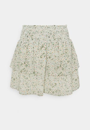 ONLMILLE MARIA - Mini skirt - chinois green