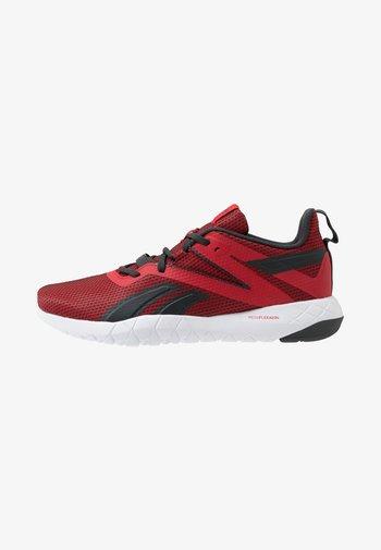 MEGA FLEXAGON - Chaussures d'entraînement et de fitness - red/grey/white