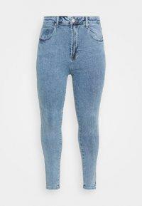 Missguided Plus - Slim fit jeans - blue - 4